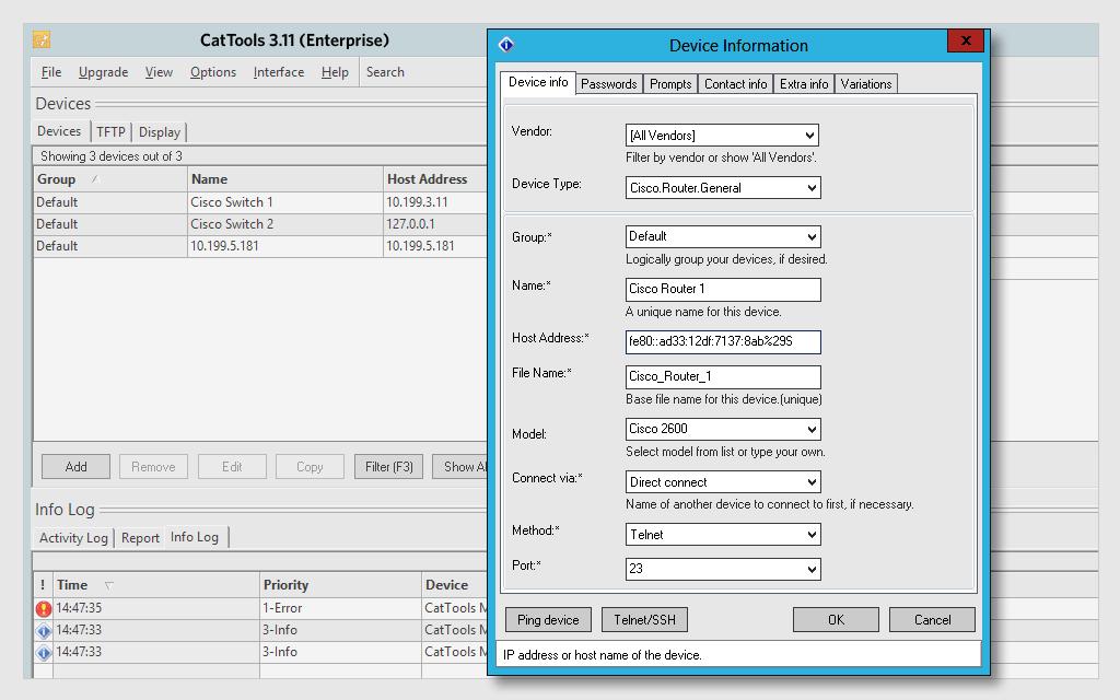 SOLARWINDS KIWI CATTOOLS - Phần mềm bản quyền SOFT365