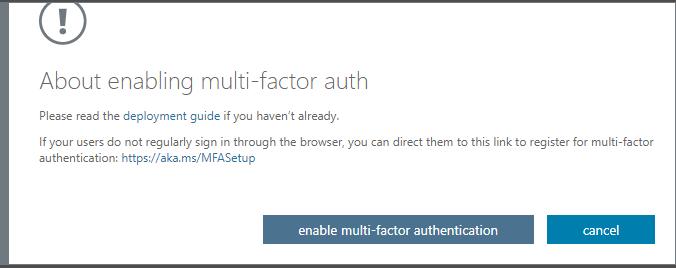 MFA Office 365 4