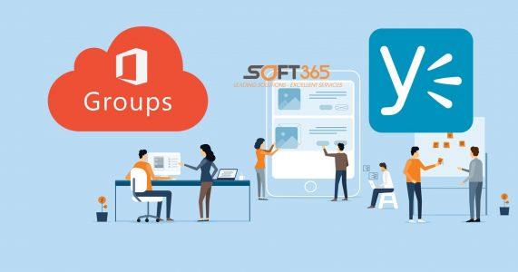 office 365 group vs yammer
